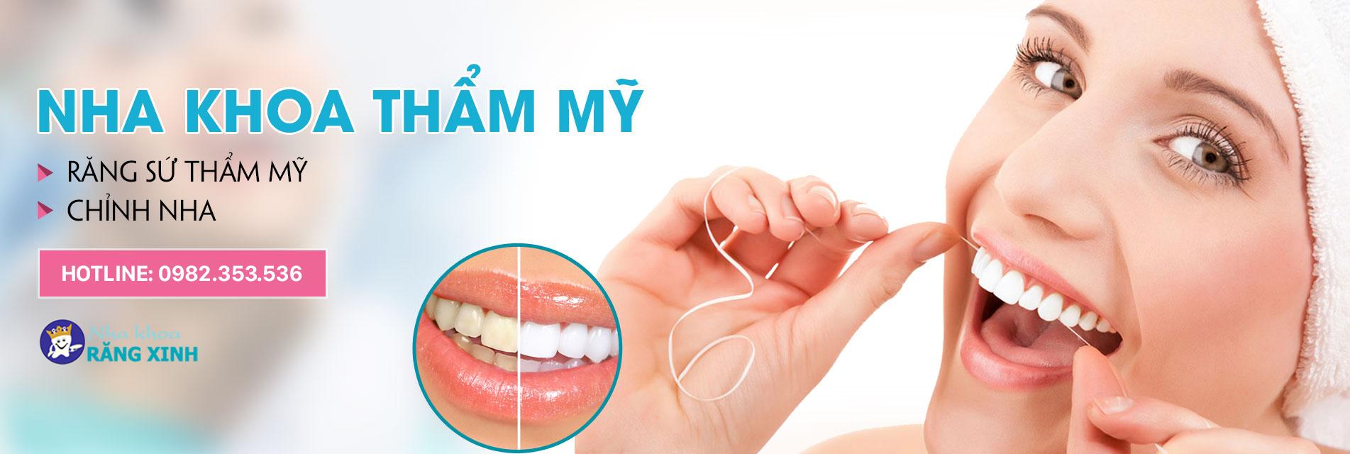 Nha khoa thẩm mỹ răng xinh đẹp và an toàn