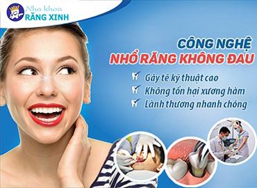 Nhổ răng khôn cam kết an toàn không đau