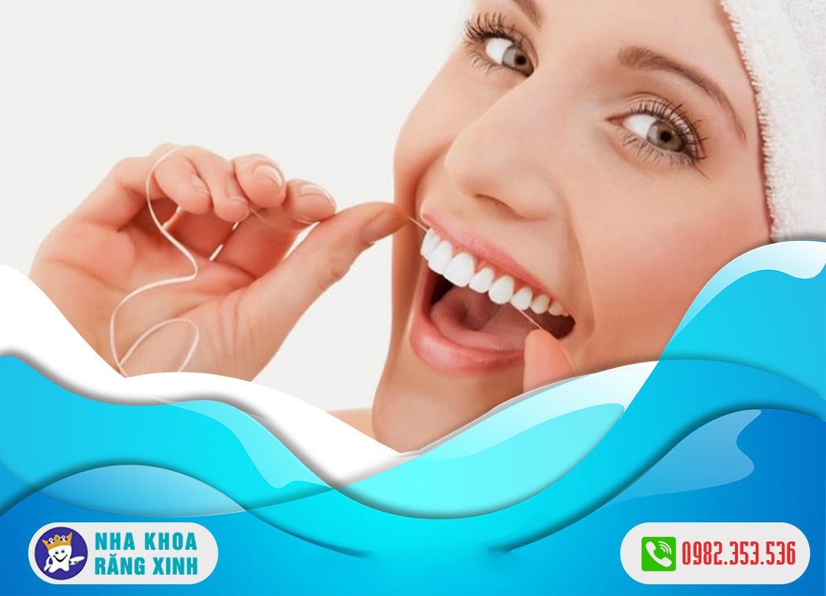 Sau khi bọc răng sứ cần chăm sóc